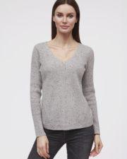 кашемировый свитер Mollie синий женский
