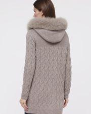 Кашемировое пальто Bridgette серое