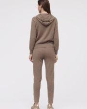 Кашемировые брюки Charlotte коричневые