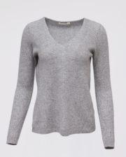кашемировый свитер Mollie женский серый