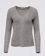 кашемировый свитер Mollie серый женский