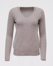 кашемировый свитер Sandra серый женский