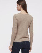 кашемировый свитер Mollie серый серый