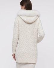 Кашемировое пальто Bridgette белое